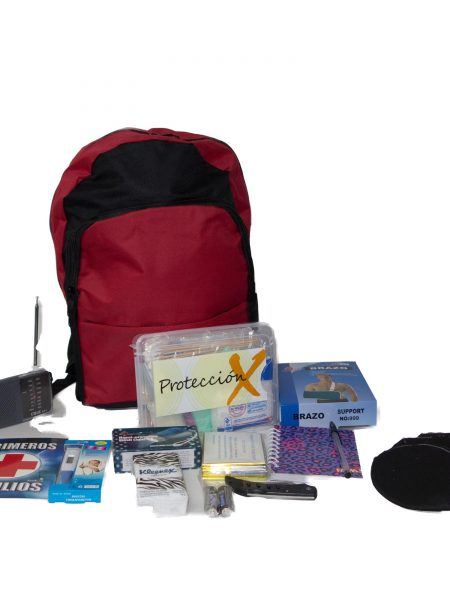 KIT DE EMERGENCIAS PARA TERREMOTOS